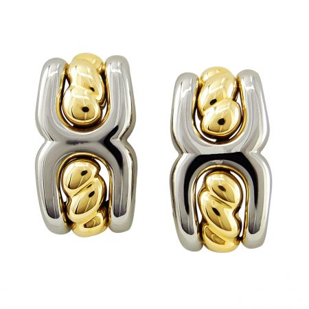 Gold and Stainless Earclips