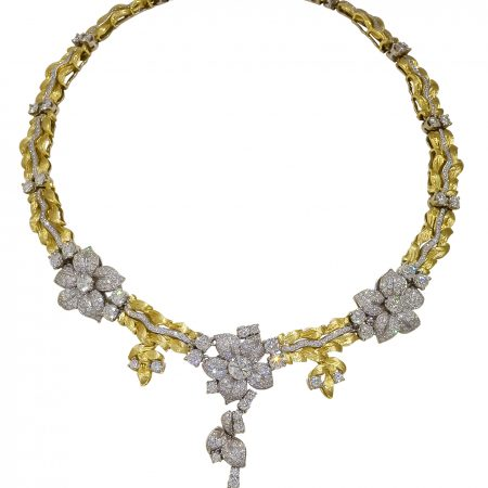 Jasmin Diamond Necklace
