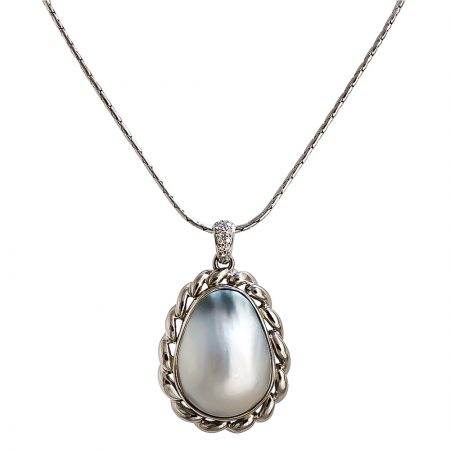 Avalon Mother of Pearl Pendant
