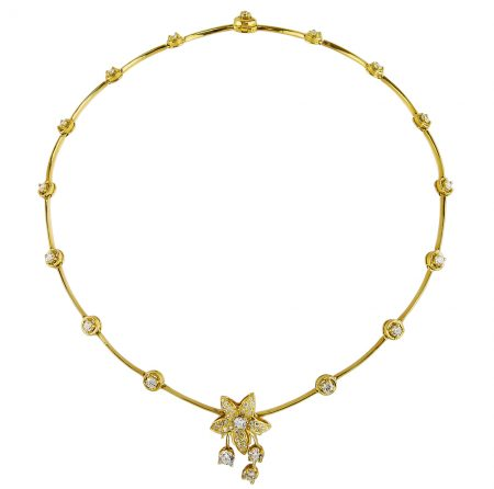Cascade Jasmin Diamond Necklace