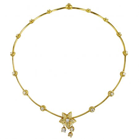 Cascade Jasmin Diamond Necklace