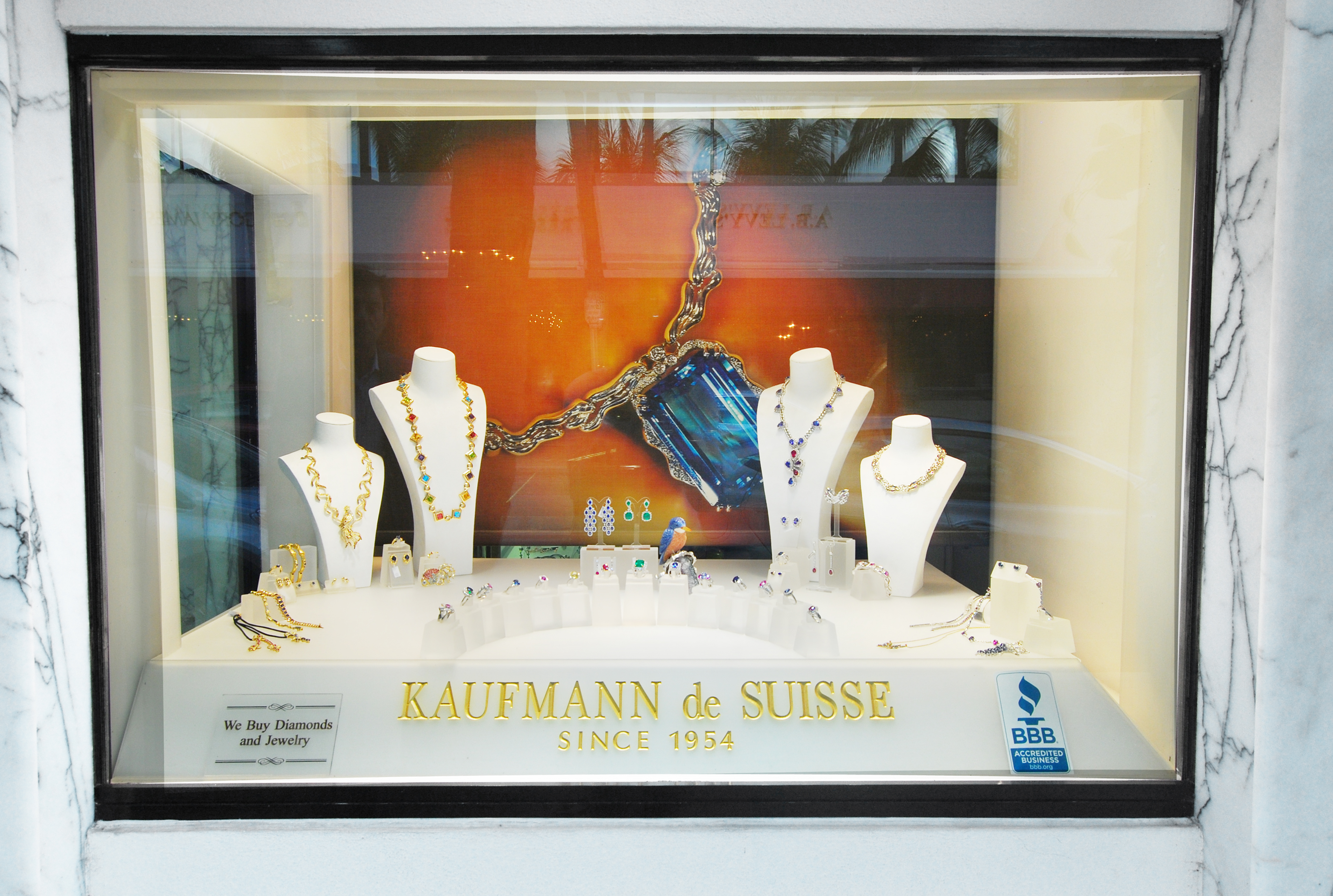 Kaufmann de Suisse Jewelry Designers, 210 Worth Ave., Palm Beach
