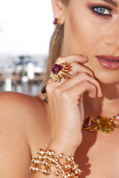Multi Colored Gemstone Jewelry