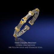 Thin Callista Bangle Bracelet