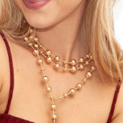 The Palm Beach Lariat in 14K Gold