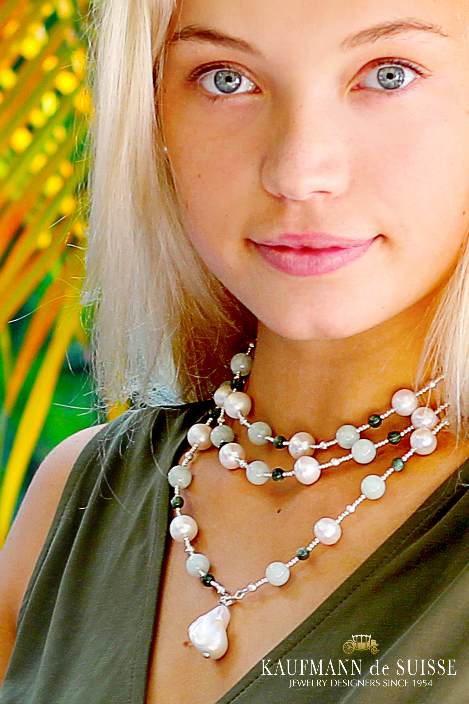 The Palm Beach Lariat in Seraphinite
