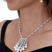 Gray Freshwater Pearl Necklace