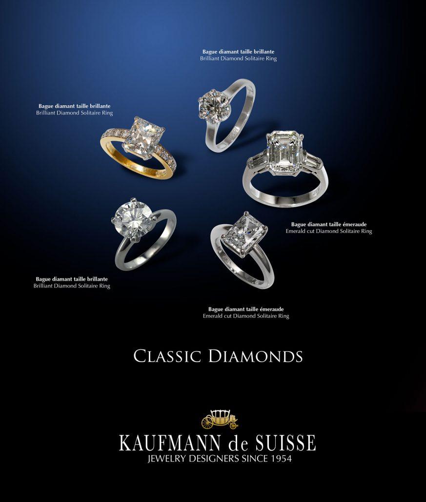 Classic Diamond Engagement Rings