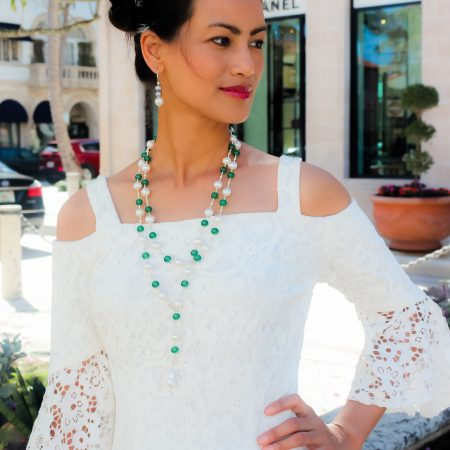 The Palm Beach Lariat in Burma Jade