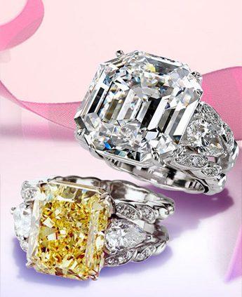 Dazzling Diamond Rings