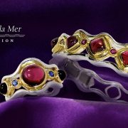Bracelet and Ring from the Jardins le la Mer Collection