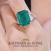 15.54 Emerald Ring