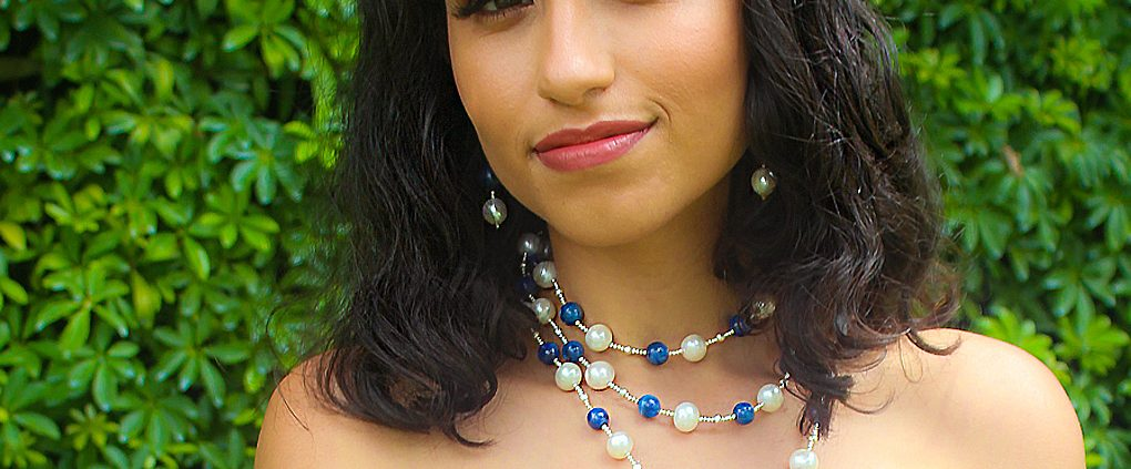 The Palm Beach Lariat in Sodalite